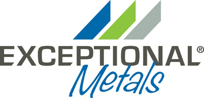Exceptional Metals logo.