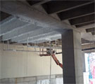 Spray-Applied Glass Fiber Insulation